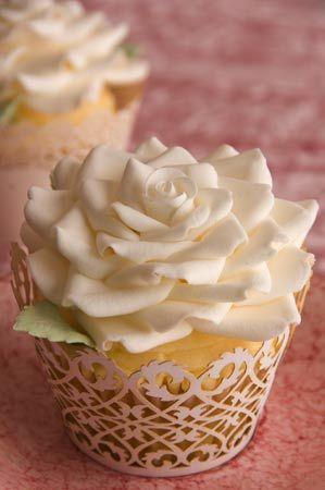cupcake dessert mariage ivoire rose Mademoiselle Cereza blog mariage