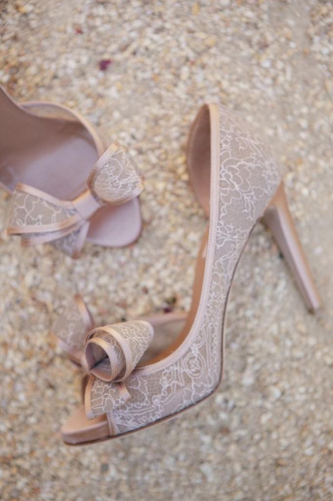 escarpins mariage dentelle chic Mademoiselle Cereza blog mariage
