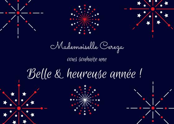 voeux mademoiselle Cereza 2015