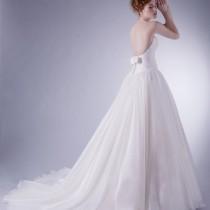 robe de mariee dos nu francesca herve Mademoiselle Cereza blog mariage