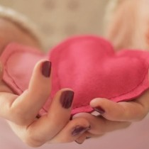 DIY idée st valentin bouillotte coeur