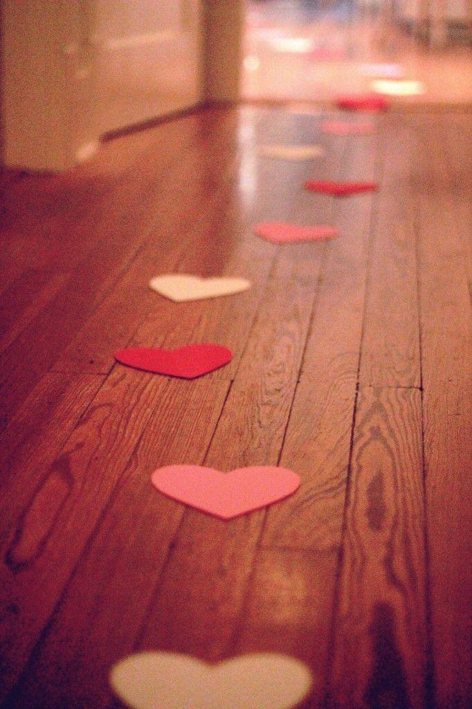 idee st valentin chemin de coeurs Mademoiselle Cereza blog mariage