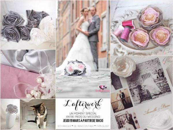 mariage ivoire rose gris blanc 2015 cereza mademoiselle