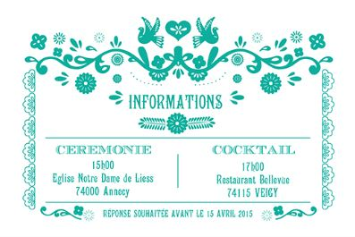 idées mariage turquoise blanc papeterie save the date