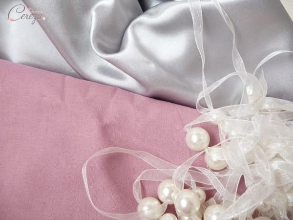 planche mariage vieux rose gris pâle ivoire cereza mademoiselle