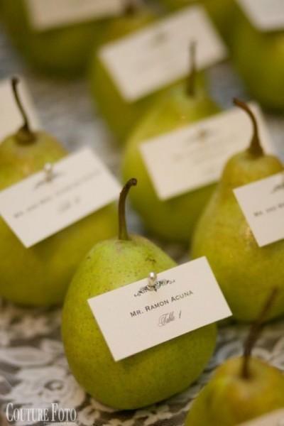 marque place fruit mariage nature cadeau invite 2