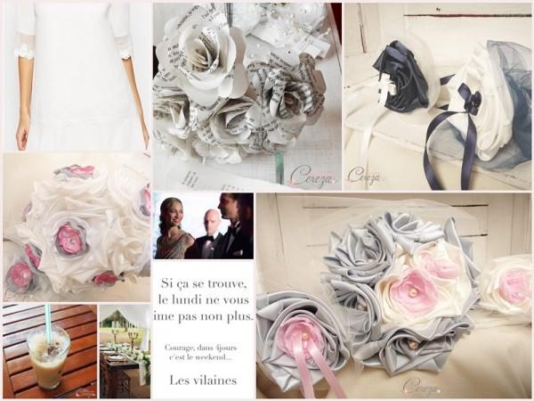 mariages élégants chics cereza mademoiselle