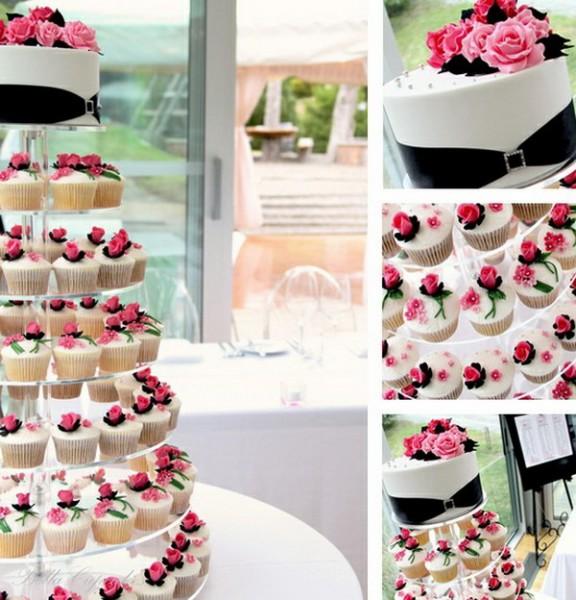 idées originales de dessert de mariage Cupcake