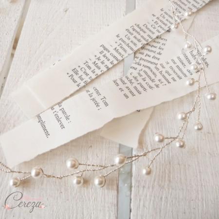 couronne perles mariee bijou de tete coiffure chic boheme cereza mademoiselle 6