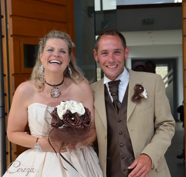 idées mariage ivoire chocolat bouquet mariee bijou original cereza mademoiselle