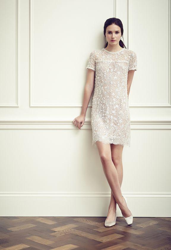 jenny packam robe de mariée courte sélection stylée