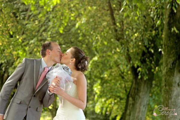 mariage  ivoire rose gris argent bouquet mariée original cereza (8)