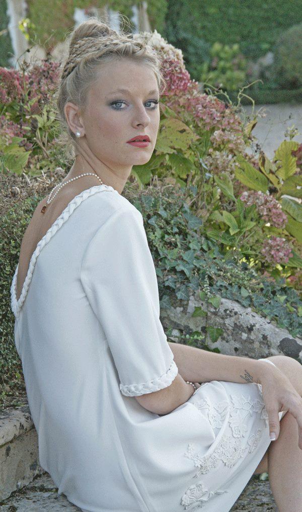 robe de mariée courte sélection stylée Acoline Manon Pascual (1b)