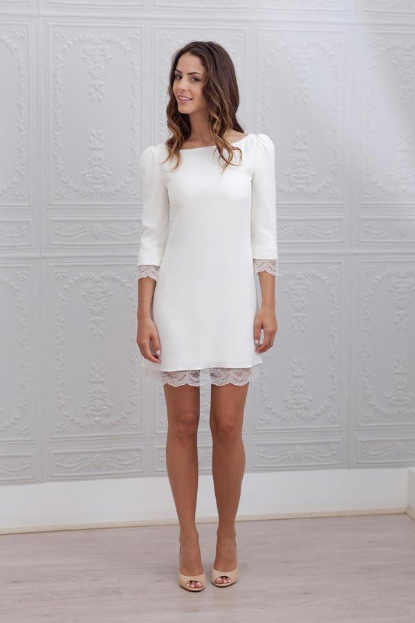 robe de mariée courte sélection stylée Margot marie laporte r