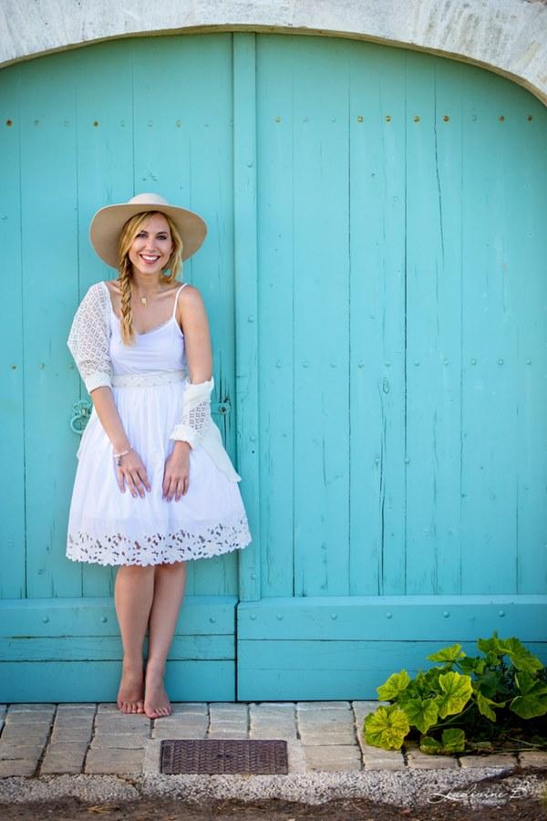 robe de mariée courte sélection stylée louise valentine flora jupe top (3r)