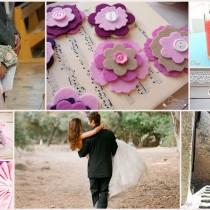 bouquet boutons mariage rose gris cristal bijoux accessoires cereza mademoiselle