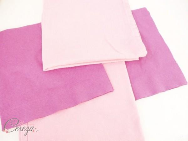diy pliage de serviette éventail bicolore idée blog mariage original déco table cereza mademoiselle (2)