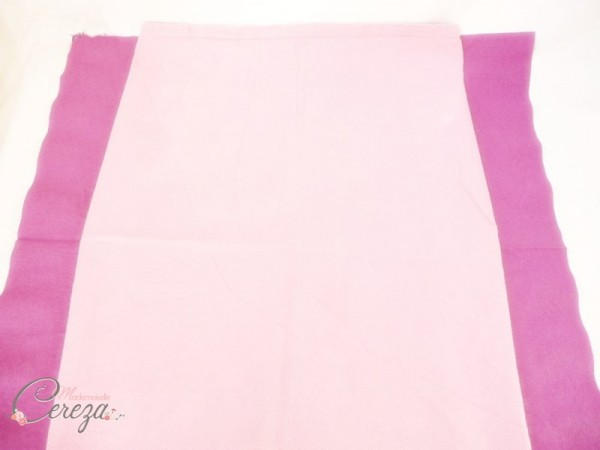 diy pliage de serviette éventail bicolore idée blog mariage original déco table cereza mademoiselle (4)