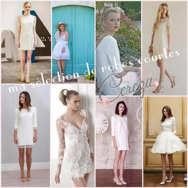 robe de mariée courte sélection stylée blog mariage cereza mademoiselle r2