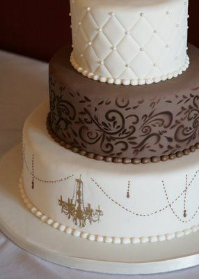 brown and white wedding cake id 233 es wedding cake amp faire part ivoire chocolat 12189
