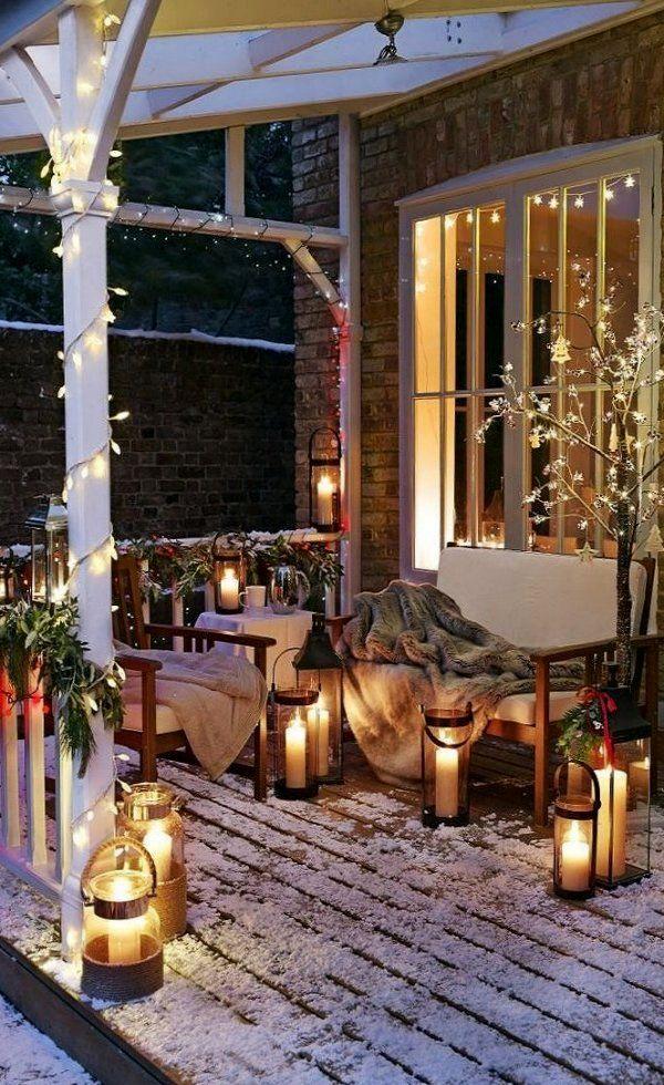 se marier en hiver décor exterieur conte de noel