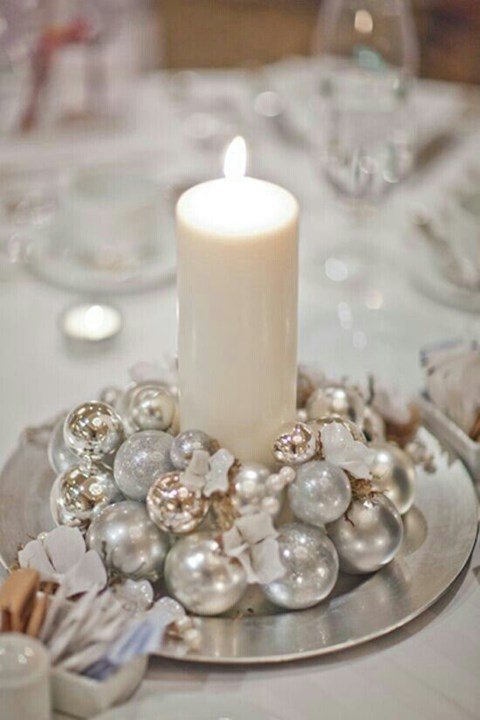 se marier en hiver utiliser des bougies