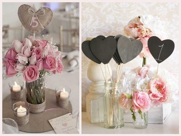 numéros de table mariage  10 idées originales diy cereza blog mariage r