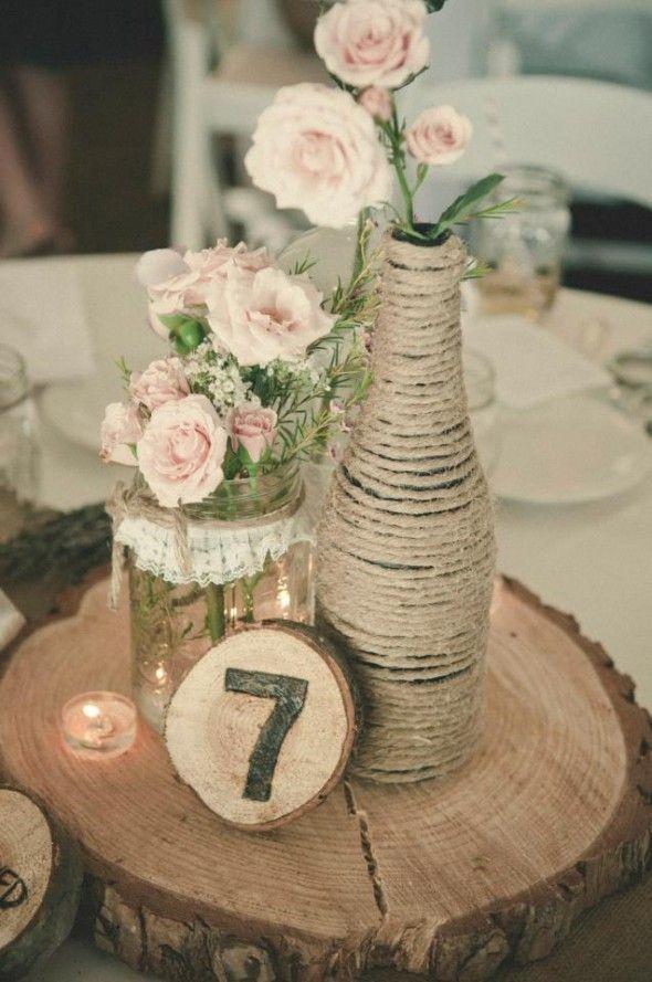 Numeros De Table Mariage 10 Idees Originales Diy Melle