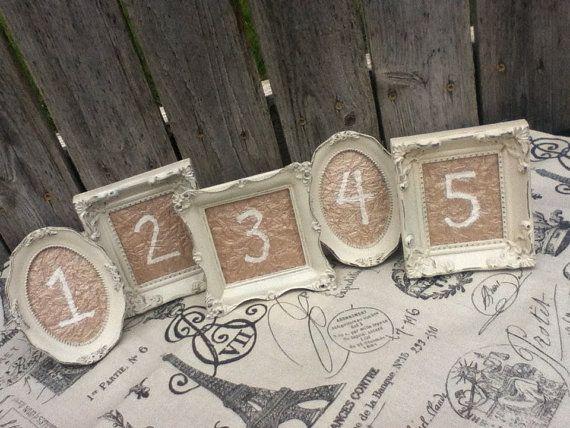 numeros table mariage diy petits cadres personnalisés diy blog mariage cereza