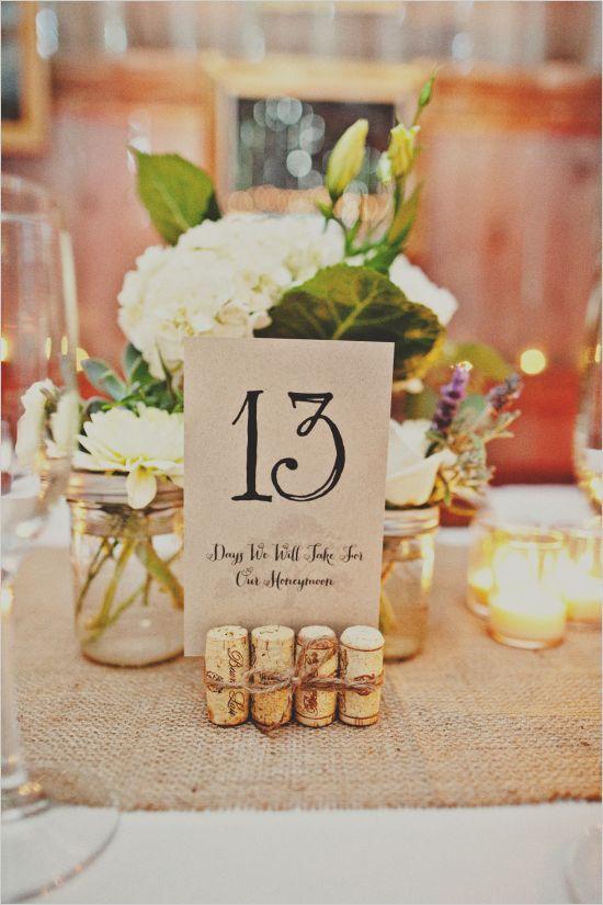 numeros tables mariage vigne bouchons et jolie papèterie cereza blog mariage diy