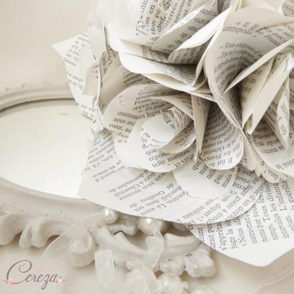 bouquet mariée atypique éternel papier cereza mademoiselle