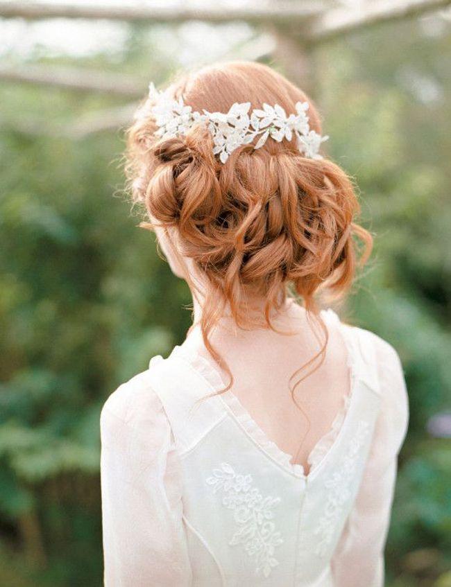 chignon de mariage boho chic destructurée tendance blog mariage cereza