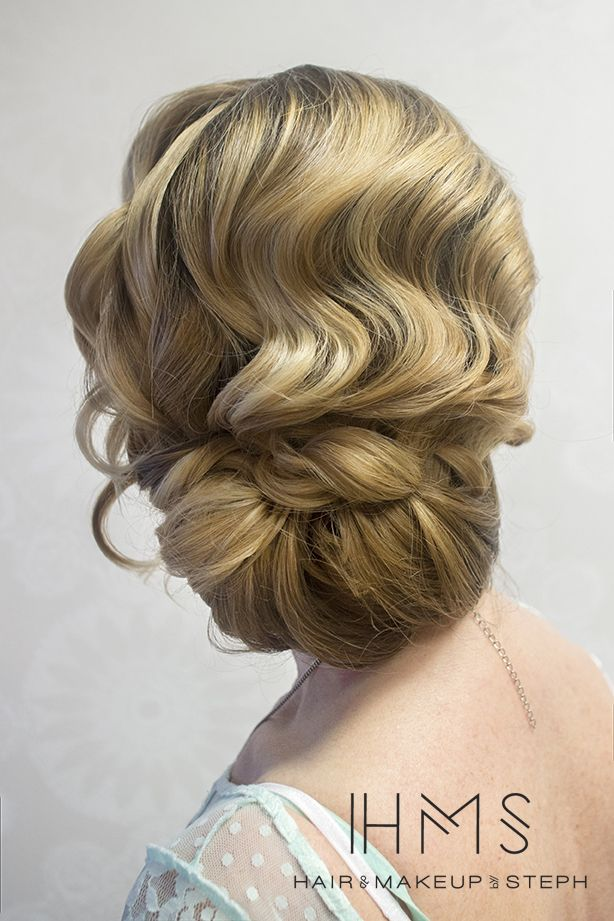 idée coiffure mariée chignon style rétro vintage Mademoiselle Cereza blog mariage 4
