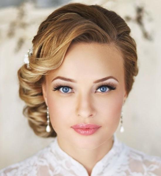 idée coiffure mariée chignon style rétro vintage Mademoiselle Cereza blog mariage