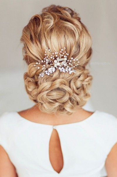 idée coiffure mariee chignon tressé blog mariage cereza mademoiselle