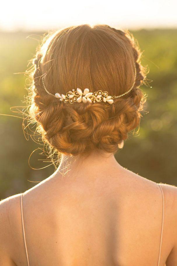 le chignon de mariage tendance coiffure blog mariage cereza mademoiselle torsadé