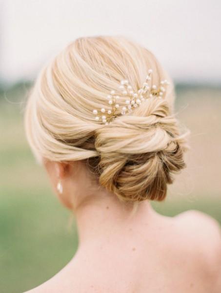 le chignon de mariage sage romantique tendance coiffure blog mariage cereza mademoiselle (5)