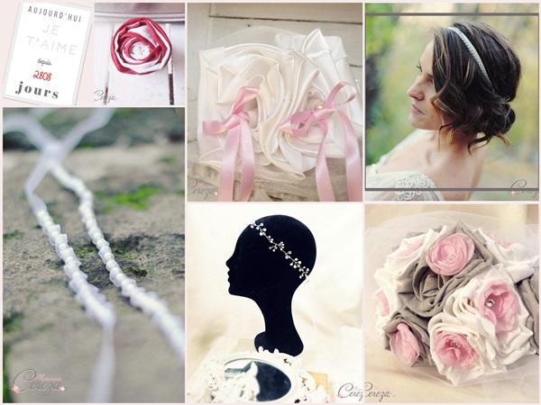idée headband coiffure mariée cereza mademoiselle blog mariage