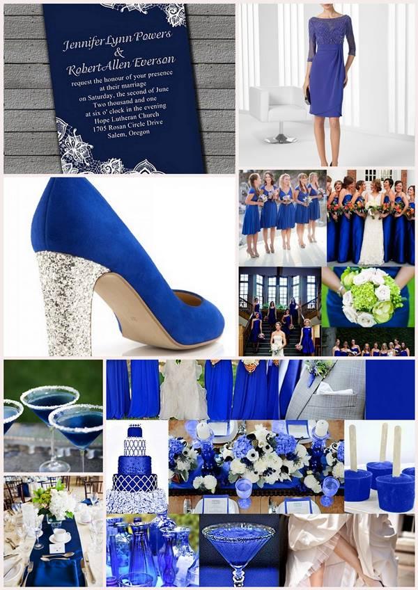 Decoration D Un Mariage Bleu Gris Et Blanc