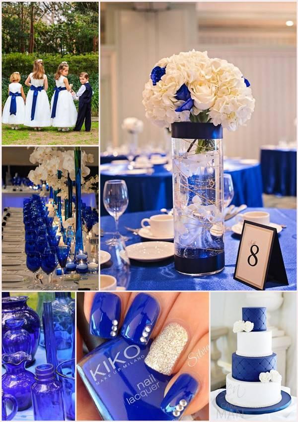 mariage bleu roi inspirations