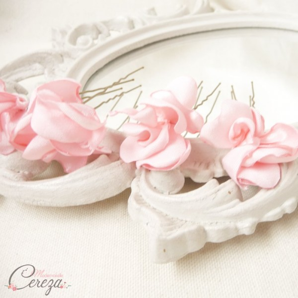 mariage à thème rose quartz