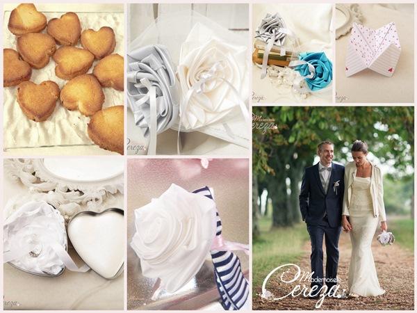 boite alliances fleur et boutonnière mariage original personnalisable