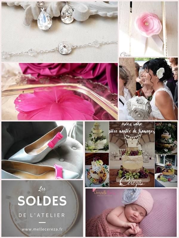 boutique mariage internet bijoux pour la mariée boutonnière pour le marié cereza mademoiselle