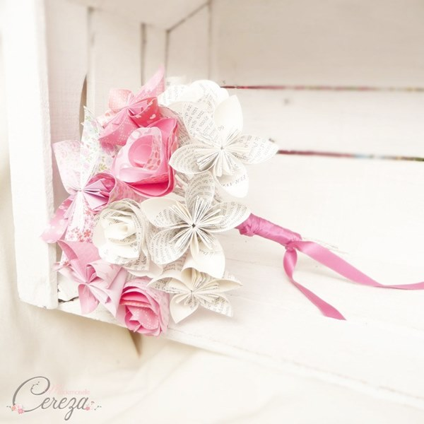 mariage rose rouge decale original atypique france cereza mademoiselle