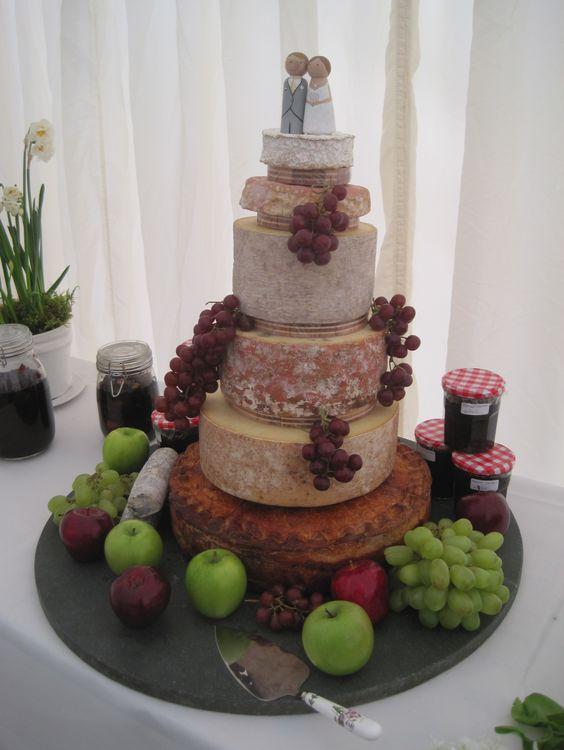 idée mariage bohème chic la pièce montée de fromage Mademoiselle Cereza blog mariage (18)