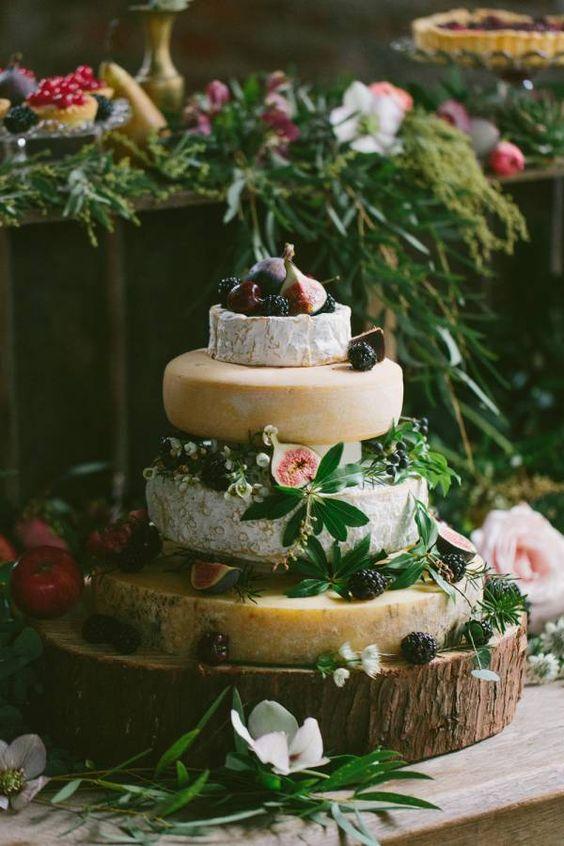 idée mariage bohème chic la pièce montée de fromage Mademoiselle Cereza blog mariage (5)