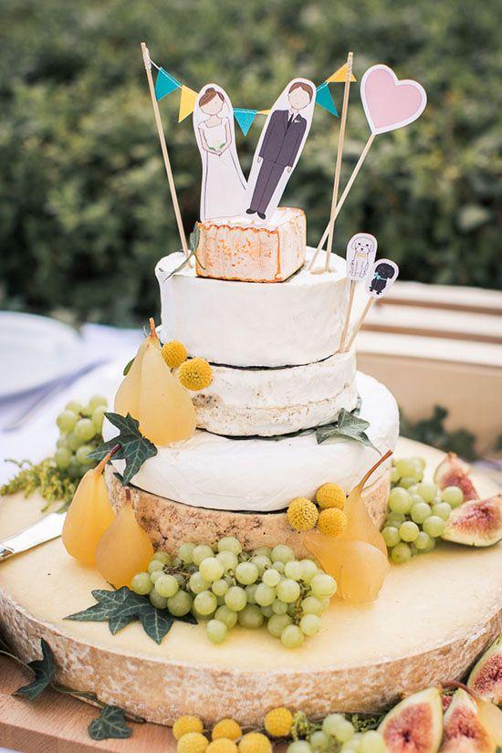 idée mariage bohème chic la pièce montée de fromage Mademoiselle Cereza blog mariage (9)