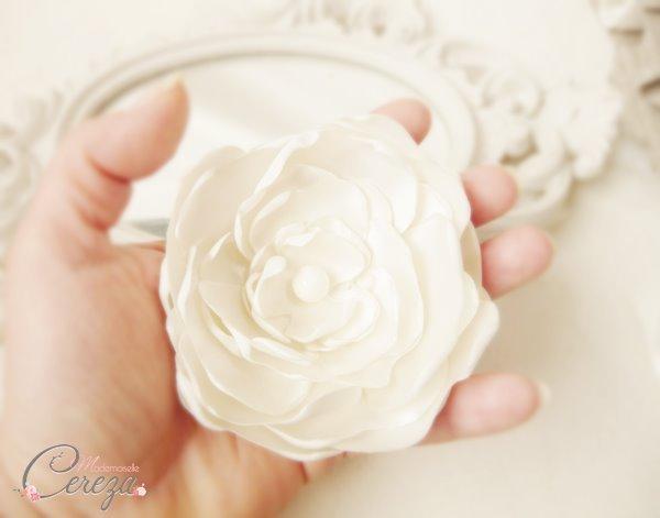 mariage ivoire et beige esprit bohème bijou de coiffure fleur ivoire original accessoires mademoiselle cereza (11)