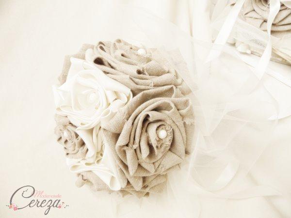 mariage ivoire et beige esprit bohème bouquet de mariée original accessoires mademoiselle cereza (14)