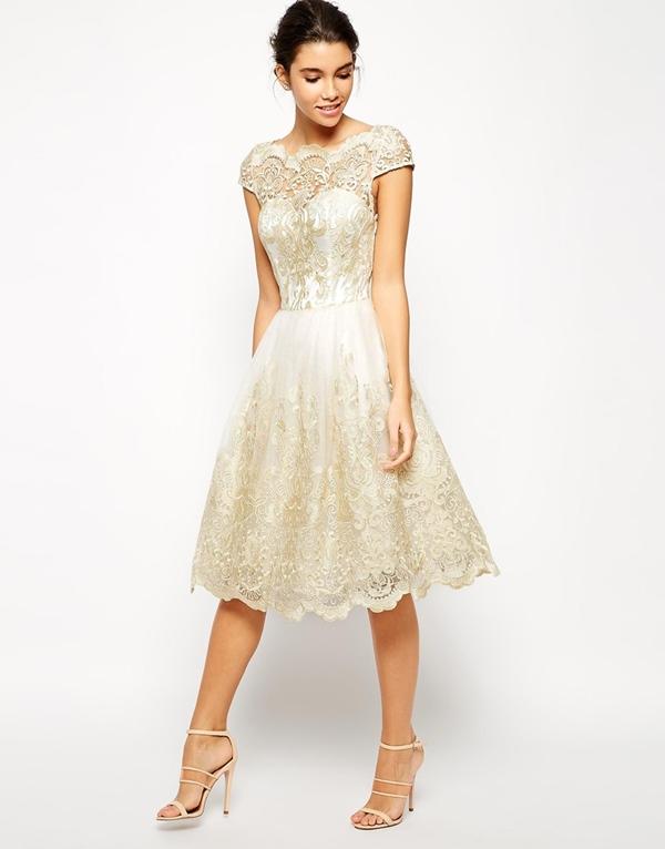 robes de mariee a moins de 150 euros Asos robe dentelle creme Mademoiselle Cereza  blog mariage b